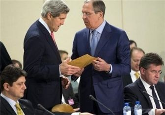 دیدار وزرای خارجه آمریکا و روسیه در شهر لاهه