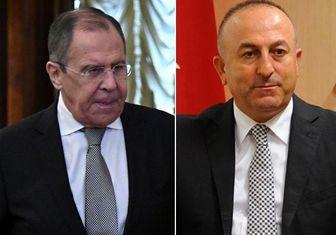 ادامه بررسی اوضاع سوریه در مذاکرات تلفنی لاوروف و چاوشاوغلو
