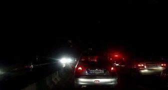 مناطقی از تهران خاموش شد! + عکس