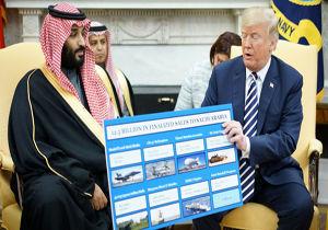 دلهره شرکتهای تسلیحاتی آمریکا از کاهش فروش اسلحه به عربستان