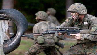 تجهیز نیروهای ارتش آمریکا به سرنیزه برای سرکوب معترضان