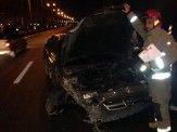 تصادف در اتوبان تندگویان 5 مصدوم برجای گذاشت+ عکس