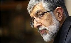 انتقاد حداد عادل به حمله موشکی غرب به سوریه