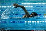 شاهین ایزدیار در شنا به مدال برنز رسید
