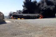 وقوع آتشسوزی در مرز مشترک افغانستان و ایران