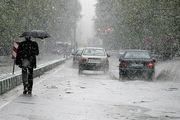 بارش باران و باد شدید در ۱۸ استان کشور