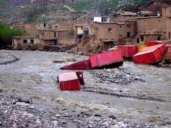 امدادرسانی هلال احمر به ۱۰ استان متأثر از سیل و آبگرفتگی
