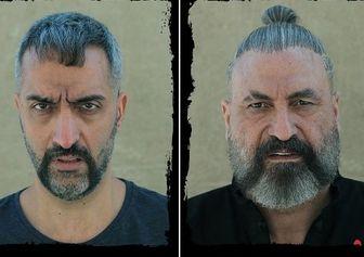 """تیپ دیدنی """"حمید فرخنژاد"""" و """"امیرمهدی ژوله"""" حین موتورسواری/عکس"""