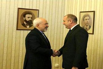 ظریف با رئیس جمهور بلغارستان دیدار کرد