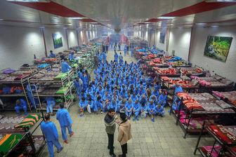 مدد سرایی برای اهالی تهران در «حکیمیه»