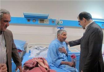 بازدید وزیر بهداشت از وضعیت بیماران تنفسی