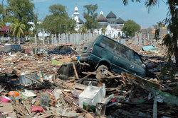 ثلاث، یک سال پس از زلزله/ عکس