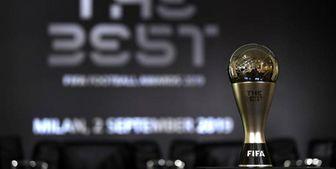 مسی مرد سال فوتبال جهان/کلوپ برترین سرمربی و آلیسون برترین دروازهبان