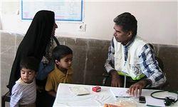 ارایه خدمات پزشکی رایگان در شبهای قدر
