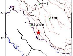 زلزله بردخون بوشهر را لرزاند