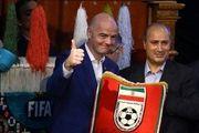 نامه رئیس فیفا به فدراسیون فوتبال ایران