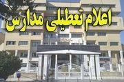 جزئیات تعطیلی مدارس روز ۱۴ بهمن
