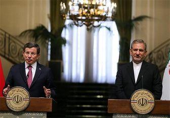 اهداف و پیامهای سفر نخستوزیر ترکیه به تهران