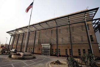 حمایت سفارت آمریکا از معترضان در عراق