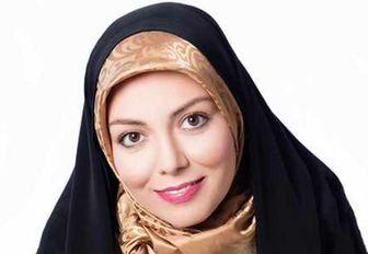 عاشقانه های مجری ممنوع الکار در شب تولد همسرش/ عکس