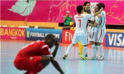تیم ملی فوتسال ایران راهی فینال شد