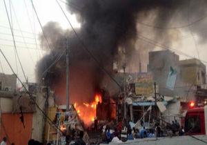 انفجار در شهر بغداد