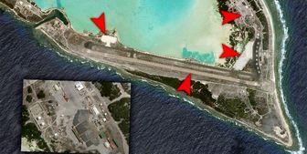 ساختوسازهای نظامی آمریکا در یک جزیره مرموز برای تقابل با پکن+ عکس