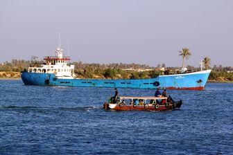 یک کشتی تجاری ایرانی غرق شد