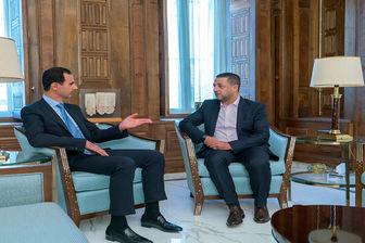 پخش مصاحبه اختصاصی بشار اسد از شبکه العالم