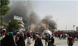 انفجار خودروی بمب گذاری شده در بغداد