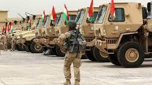 ورود کامیونهای حامل کمک نظامی آمریکا به کردها در شمال سوریه