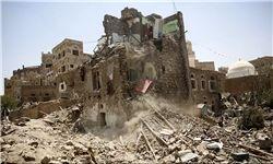 حمله هوایی عربستان به مسجدی در صعده یمن