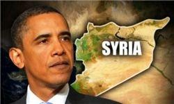 اوباما بر طبل جنگ علیه سوریه کوبید