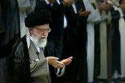 مرحوم واعظ طبسی درکنار رهبرانقلاب / عکس