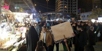 راهپیمایی در کاظمین عراق در حمایت از آیتالله سیستانی