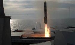 آزمایش موشک جدید نیروی دریایی آمریکا