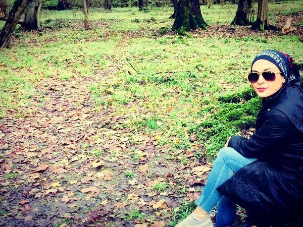 حدیثه تهرانی در دل طبیعت زیبا + عکس