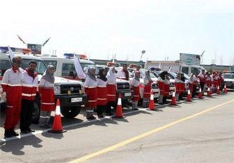 ۱۵ هزار زائر اربعین از خدمات سرپایی هلال احمر برخوردار شدند