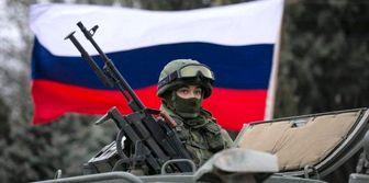 گشتزنی نیروهای ارتش روسیه در «دمشق»