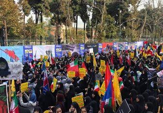 حضور مسئولان و شخصیتهای سیاسی اصلاحطلب و اصولگرا در یومالله ۱۳ آبان + عکس