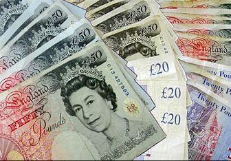 کمترین میزان ارزش پوند انگلیس در یکسال گذشته