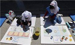 نقاشی بهداشت روان توسط تمام دبستانی های تهران