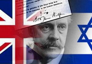 نقش انگلیس در تشکیل رژیم صهیونیستی