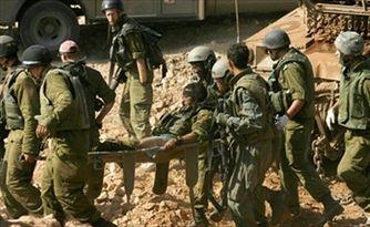 زخمی شدن ۷۱۴ نظامی اسرائیل در غزه