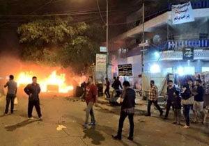 انفجار انتحاری در عراق