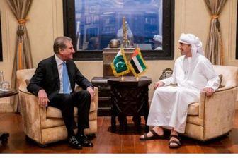 وزرای خارجه امارات و پاکستان دیدار کردند