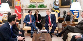 ترامپ در کاخ سفید با رئیسجمهور خودخوانده ونزوئلا دیدار کرد