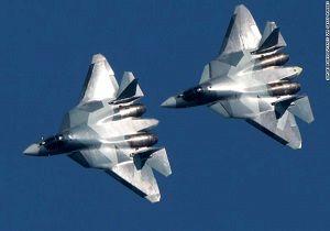 اعزام جنگنده سوخو-۵۷ روسیه به سوریه