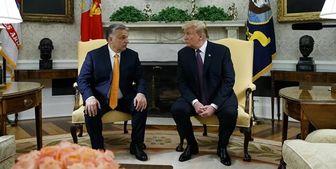 حمایت نخستوزیر مجارستان از پیروزی ترامپ در انتخابات