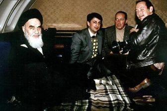 عکس دیدهنشده از محل استراحت امامخمینی در پرواز انقلاب